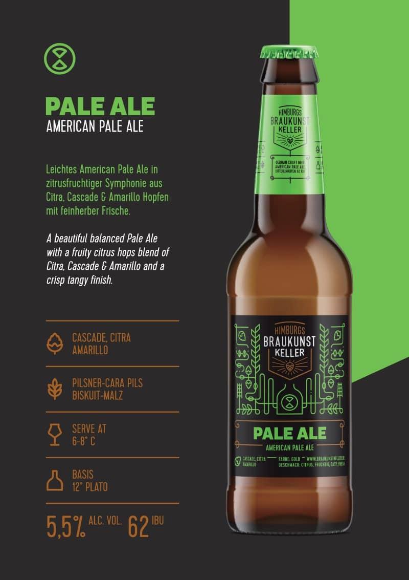 Pale Ale Craft Beer Braukunst Keller trinkgut Bielefeld